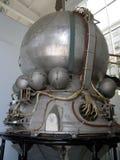 Kopia av ett rymdskepp Vostok Arkivfoton
