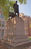 Kopia av statyn av Abraham Lincoln i London UK Arkivfoton