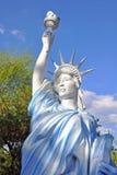 Kopia av statyn av frihet Fotografering för Bildbyråer