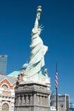 Kopia av statyn av frihet i nya York-nya York på Lasen Royaltyfri Bild