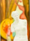 Kopia av Venus de Milo i konstgalleri Royaltyfri Bild