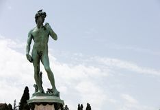 kopia David Michelangelo obrazy royalty free