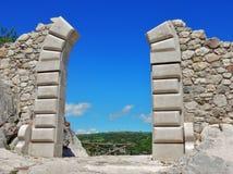 Kopia grodowy portal obrazy royalty free