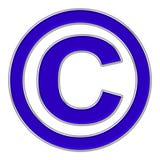kopia ikony prawo oceny Obrazy Royalty Free