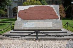 Kopia kamień od Dighton (usa) zdjęcie stock