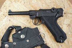 Kopia Niemiecki pistolet dla pneumatycznego ostrzału obrazy stock