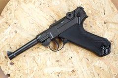 Kopia Niemiecki pistolet dla pneumatycznego ostrzału zdjęcie stock