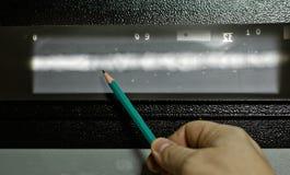 Kopia promieniowanie rentgenowskie wizerunki spawki rurociąg obraz stock