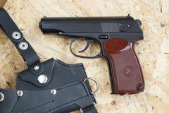 Kopia Radziecki pistolet dla pneumatycznego ostrzału obrazy royalty free