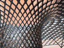 Kopia Wyginająca się Tulejowa Dachowa struktura fotografia stock