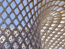 Kopia Wyginająca się Tulejowa Dachowa struktura fotografia royalty free