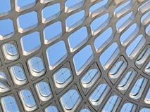 Kopia Wyginający się dach Tulejowa baldachim struktura obrazy royalty free