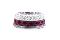 Kopiah hat for muslims. Royalty Free Stock Photography