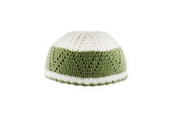 Kopiah hat for muslims. Isolated on white background Royalty Free Stock Image