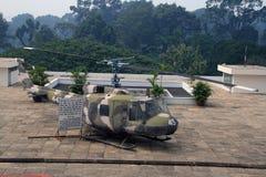 Kopiahelikopter royaltyfri fotografi