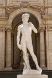 Kopian av en staty av Michelangelos David i Capitolinen Royaltyfri Fotografi