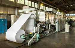 Kopie-Buchproduktionsmaschine Lizenzfreies Stockbild