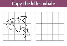 Kopieer het beeld (orka) stock illustratie