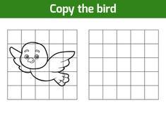 Kopieer het beeld (vogel) stock illustratie