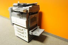 Kopieerapparaat in bureau royalty-vrije stock fotografie