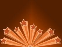 kopiera för lokalavstånd för illustrationen den retro stjärnan Arkivfoton