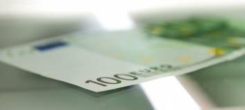 kopierande pengar Fotografering för Bildbyråer