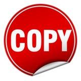 kopieren Sie Aufkleber lizenzfreie abbildung