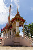 Kopieren Sie die Kirche in Thailand-Tempel Lizenzfreies Stockbild