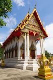 Kopieren Sie die Kirche in Thailand-Tempel Stockbilder