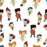Kopieren Sie eine Gruppe childrenr, Baby, Design, Kind, Lizenzfreie Stockfotografie