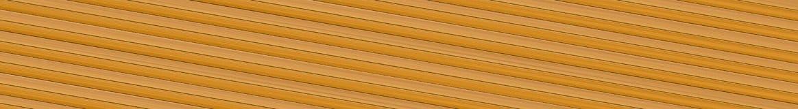 Kopieren Sie Illusion der geneigten beige longitudinallinien Stockbild