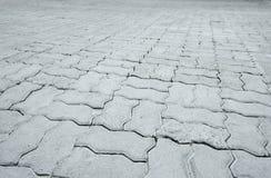 Kopiert, Fliesen, Zementziegelstein-Bodenhintergrund pflasternd Stockbild
