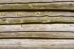 Kopierte alte Bauholzwand Lizenzfreies Stockfoto