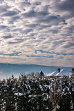 Kopierte Wolken Lizenzfreies Stockfoto