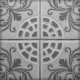 Kopierter Marmorboden für Bau Stockfoto