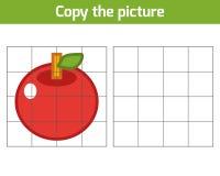 Kopiuje obrazek, Apple Zdjęcie Stock