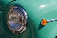 Koplamp en Opvlammend signaal van Klassieke Auto royalty-vrije stock fotografie