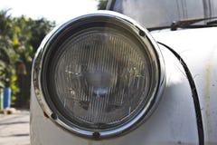 Koplamp uitstekende Auto stock foto's
