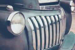 Koplamp uitstekende Auto stock afbeeldingen