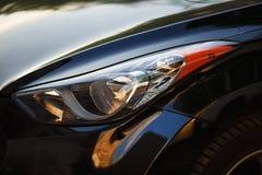 Koplamp van auto royalty-vrije stock afbeelding