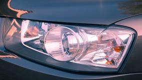 Koplamp van auto stock foto