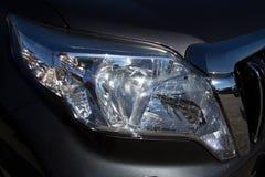 Koplamp van de moderne auto Stock Fotografie