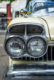 Koplamp van de ware grootteauto Ford Mercury Turnpike Cruiser, 1957 Royalty-vrije Stock Foto's