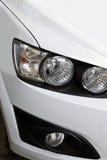 Koplamp van een auto Stock Foto