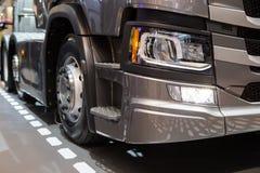 Koplamp van moderne vrachtwagen royalty-vrije stock afbeeldingen