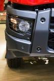 Koplamp van moderne vrachtwagen royalty-vrije stock foto's