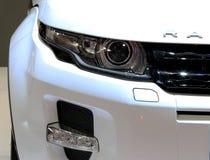 Koplamp van Range Rover-reeks Evoque Stock Foto's