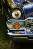 Koplamp van retro auto royalty-vrije stock afbeelding