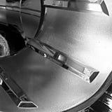 Koplamp in zwart-wit stock afbeeldingen
