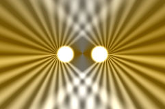 koplampen samenvatting royalty-vrije illustratie